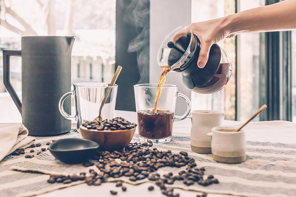 hur många koppar kaffe per paket
